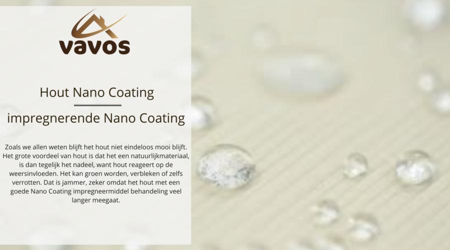 Nano Coating- impregneermiddel voor hout